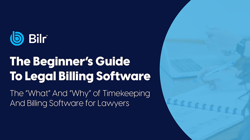 The Beginner's Guide to Legal Billing Software